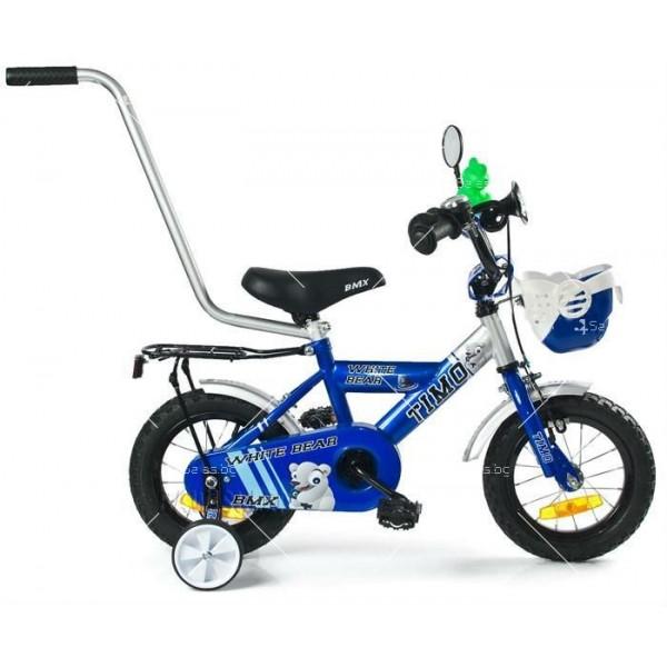 Детски велосипед с помощни колела 7