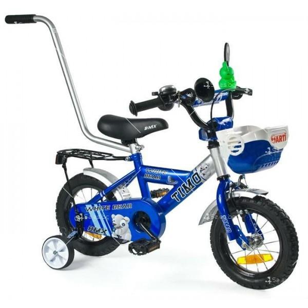 Детски велосипед с помощни колела 8