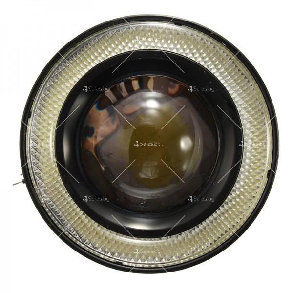 Лед халогени тип ангелски очи – 64 мм CAR LED21 6