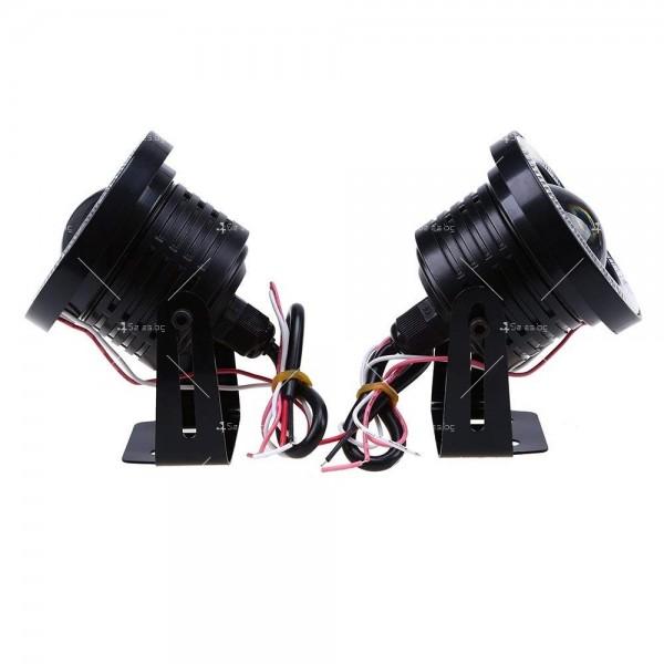 """""""Ангелски очи"""" – халогенни фарове за мъгла 89 мм CAR LED19 5"""