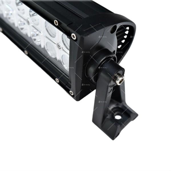 Лед бар 180 вата със 60 крушки и 15 000 лумена светлинен поток LDD BAR6 6