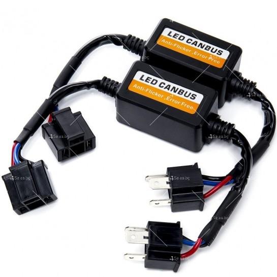 Стоперор, който премахва съобщение за изгоряла крушка при монтаж на H4 CAR LED3