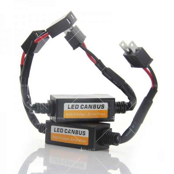 Стоперор за безпроблемна работа на лед крушки H7 CAR LED4 3