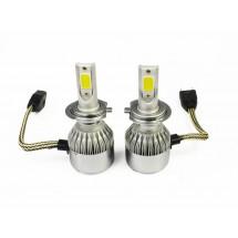 Диодни крушки, подходящи за къси и дълги светлини от типа H7 CAR LED17