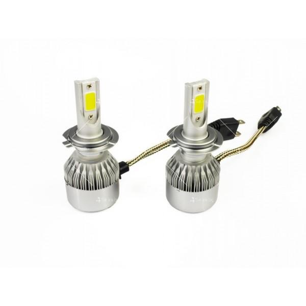 Диодни крушки, подходящи за къси и дълги светлини от типа H7 7