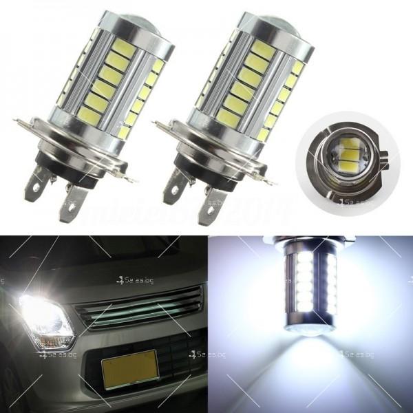 Супер силно светещи лед крушки от типа Н7 CAR LED23 7