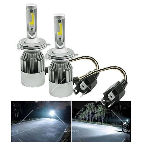 Лед крушки тип Н4 с 30 000 часа живот CAR LED18