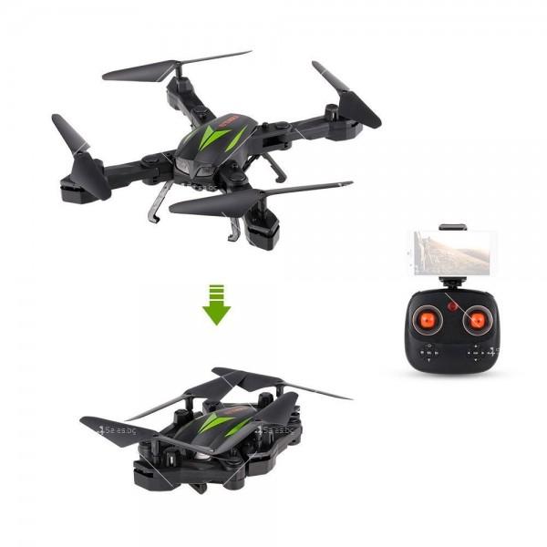 Квадракоптер с камера и сгъваеми крачета 6