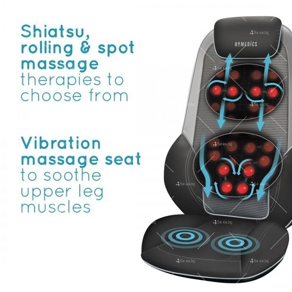 Шиацу масажна седалка 4