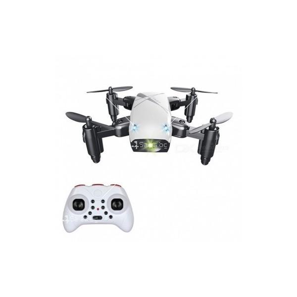 Микроскопичен сгъваем дрон с дистанционно