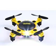 Мини дрон с мощни летателни стабилизатори и компресиран размер