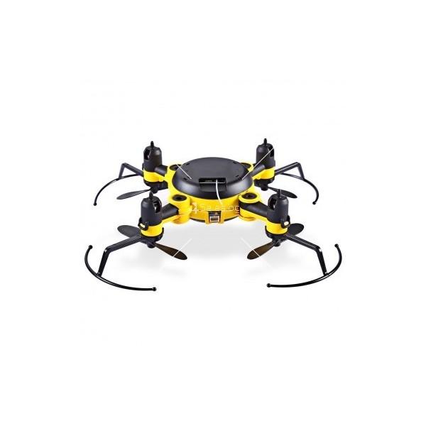 Мини дрон с мощни летателни стабилизатори и компресиран размер 5