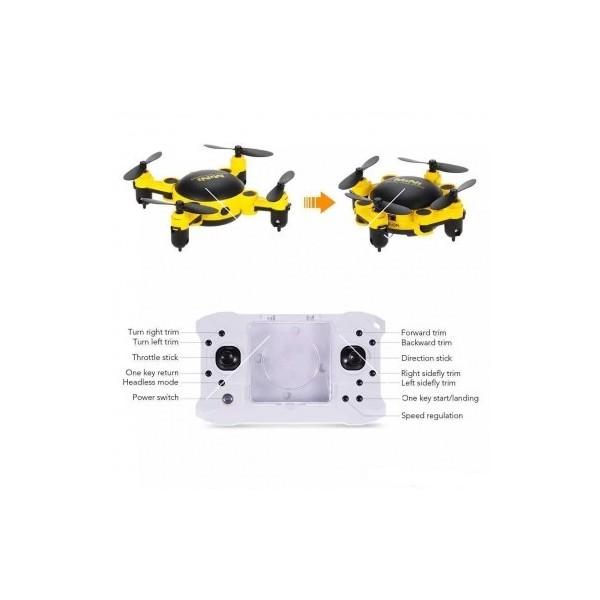 Мини дрон с мощни летателни стабилизатори и компресиран размер 6