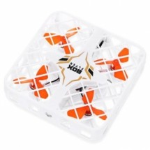Миниатюрен дрон с квадратна защитна решетка
