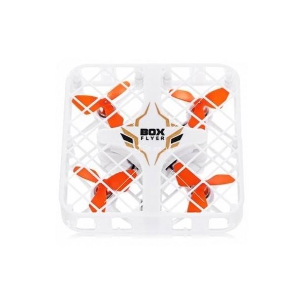 Миниатюрен дрон с квадратна защитна решетка 2