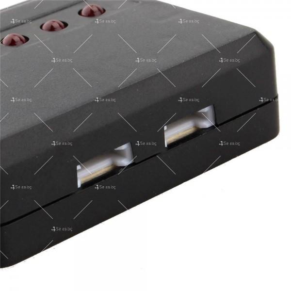 USB зарядно за дрон-батерии с до 5 броя капацитет 7