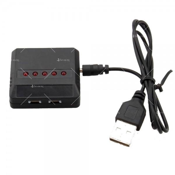 USB зарядно за дрон-батерии с до 5 броя капацитет 8