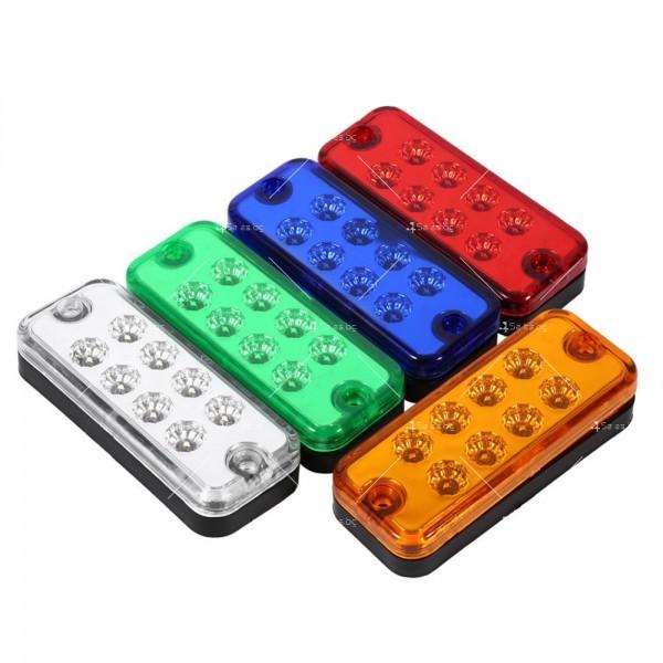 Лед габарит за камион в четири различни цвята 6