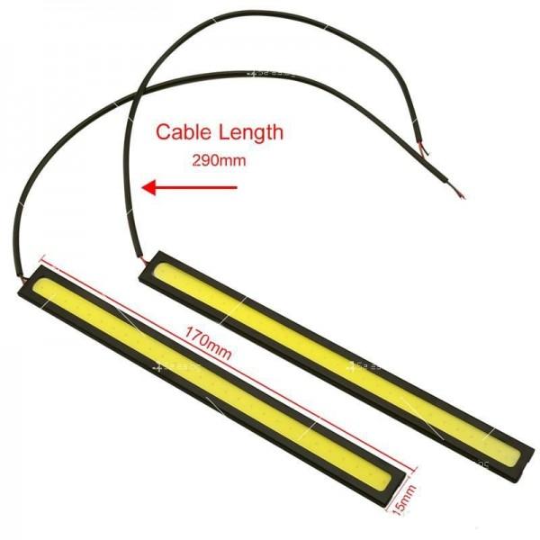 Лед светлини тип лента за дневна употреба CAR DIS LED7 2