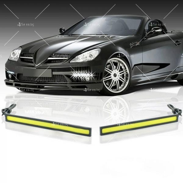 Лед светлини тип лента за дневна употреба CAR DIS LED7