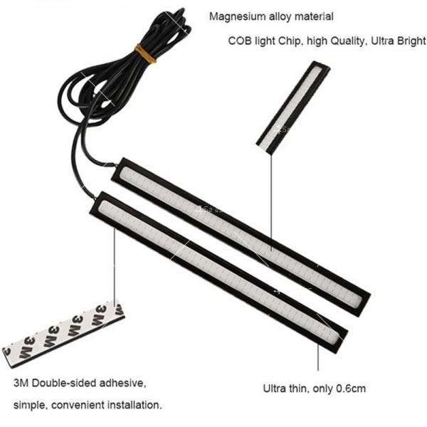 Универсални бели светлини за дневна употреба CAR DIS LED7 B 5