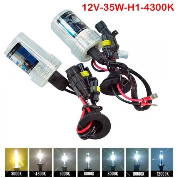 """Ксенон система """"Slim"""", H1 съвместимост и температура на цвета 4300 Келвина 14"""