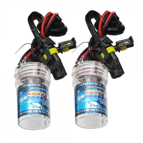 55-ватова система за осветяване с ксенонов газ (5000 Келвина, тип H7) 9