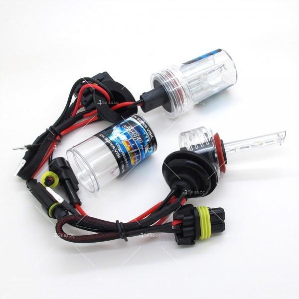 55-ватова система за осветяване с ксенонов газ (5000 Келвина, тип H7) 10