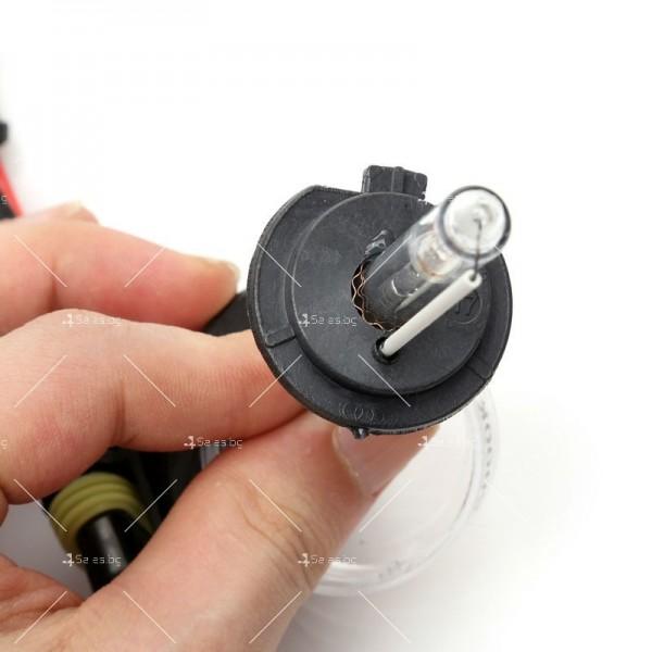 55-ватова система за осветяване с ксенонов газ (5000 Келвина, тип H7) 12