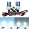 6000 Келвина яркост и 55 вата мощност с новата ксенон система тип H7 4