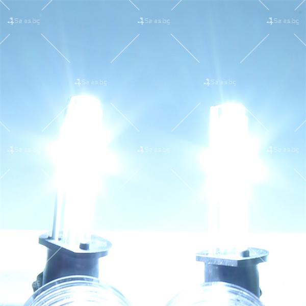 6000 Келвина яркост и 55 вата мощност с новата ксенон система тип H7 8