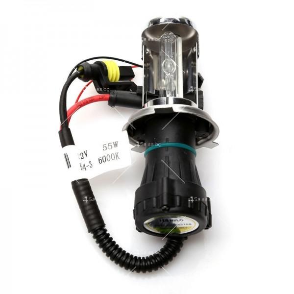Би-ксенон система тип H4 с 55 вата мощност 7