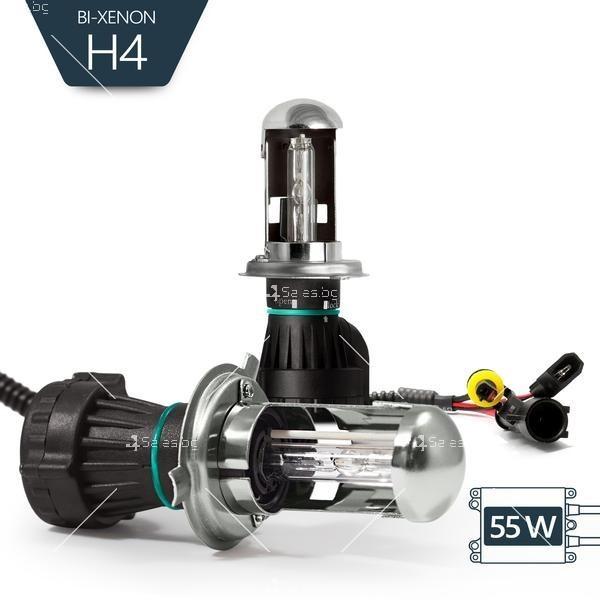 Би-ксенон система тип H4 с 55 вата мощност 12