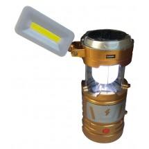 Мултифункционален лед фенер със слънчево зареждане CAMP LAMP9