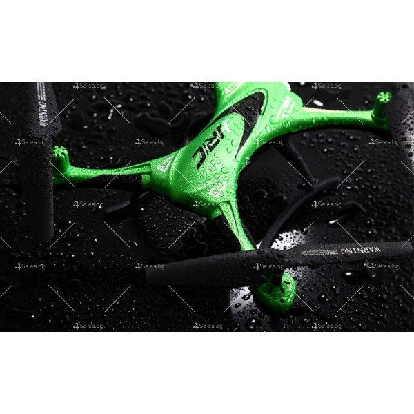 Дрон JJRC H31 с висока водоустойчивост, LED светлини и 360 градуса превъртане 7