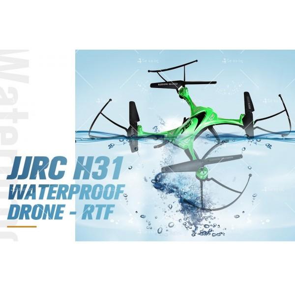 Дрон JJRC H31 с висока водоустойчивост, LED светлини и 360 градуса превъртане 15