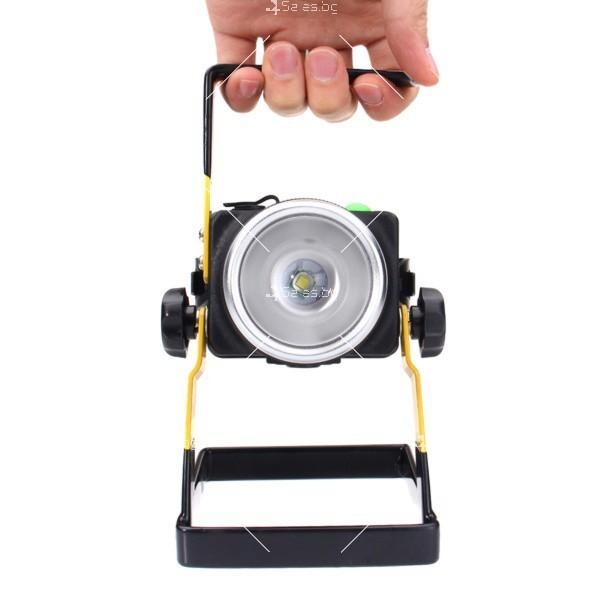 Портативен лед прожектор с UV светлина GDL4 4