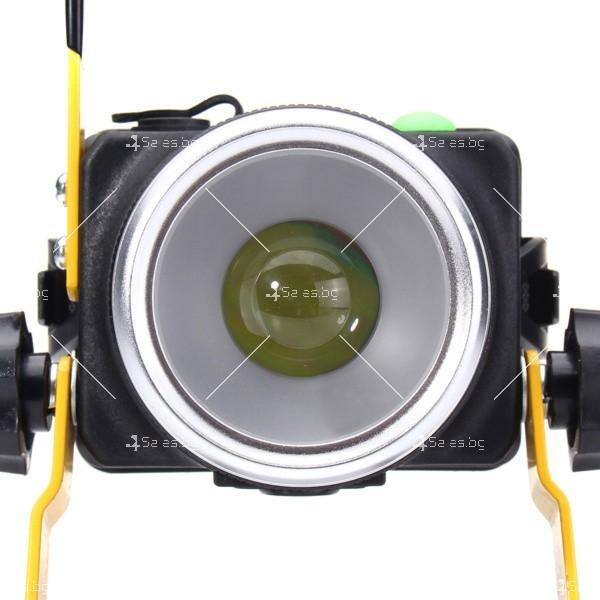 Портативен лед прожектор с UV светлина GDL4 8