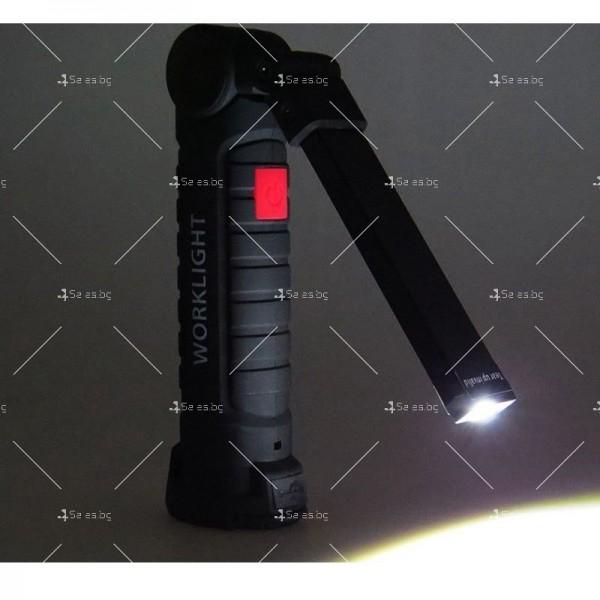 Сгъваемо COB LED осветително тяло с магнит FL36 9