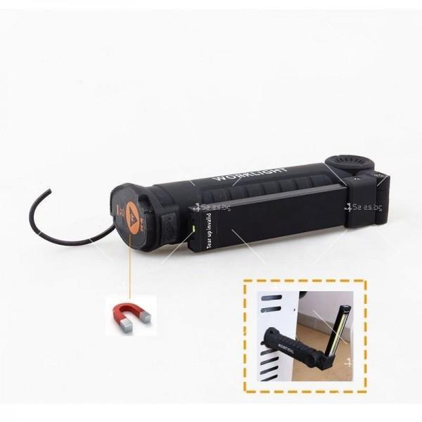 Сгъваемо COB LED осветително тяло с магнит FL36 10
