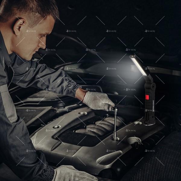 Сгъваемо COB LED осветително тяло с магнит FL36 11