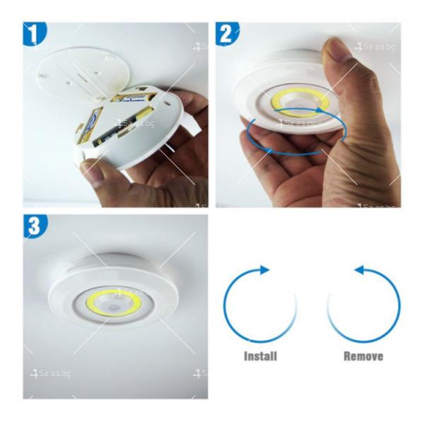 Лед лампички с дистанционно R LED4 1