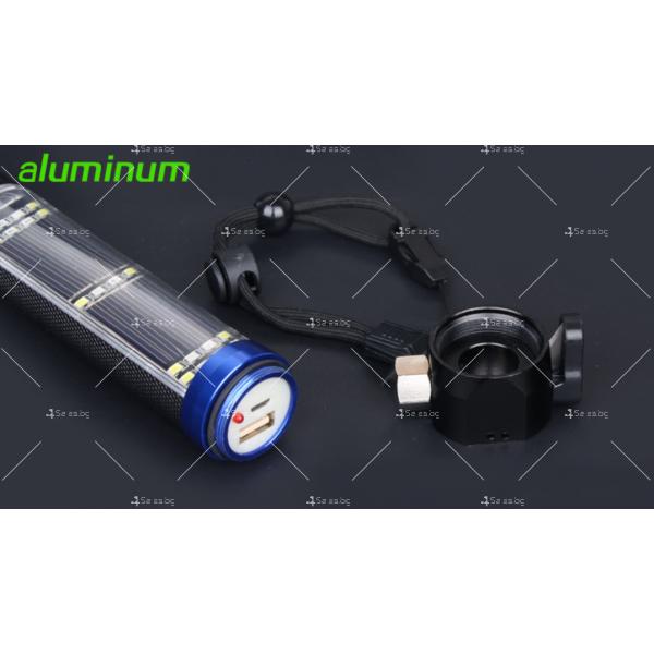 Соларно захранващ се фенер с много функции 3