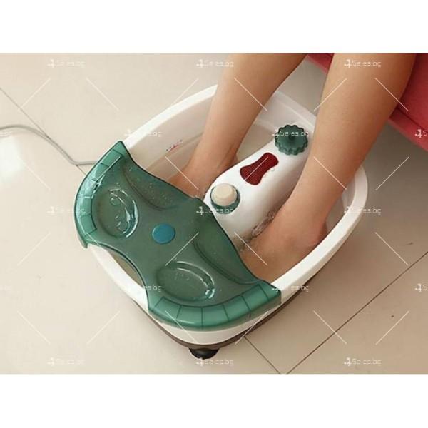 Водна терапия за стъпала - вана с инфрачервено загряване TV101 6