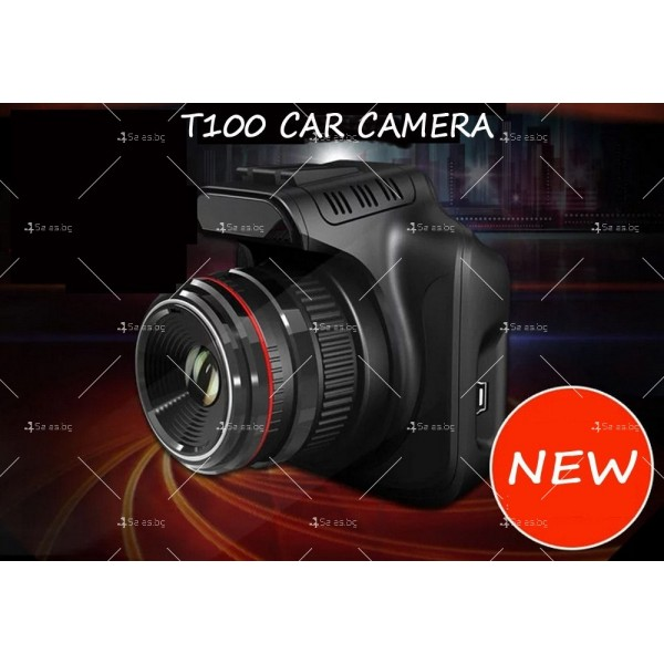 Видеорегистратор за кола с високо качество A6 T100 30 Full HD 1080 P 6