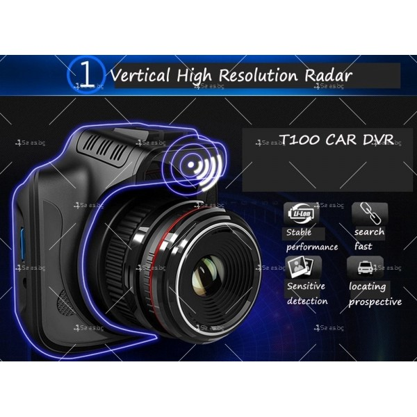 Видеорегистратор за кола с високо качество A6 T100 30 Full HD 1080 P 8
