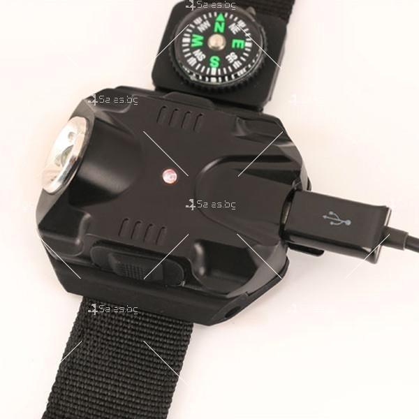 Фенер с компас тип гривна 5