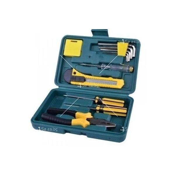 Компактна кутия за автомобили с 11 вида инструменти CASE1 2