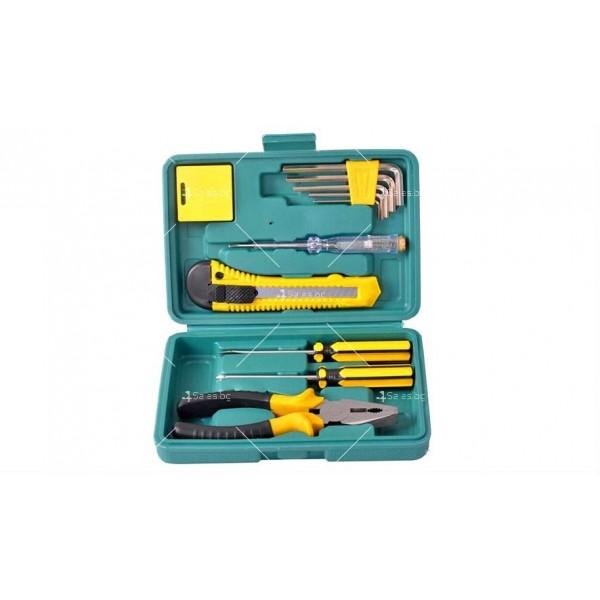 Компактна кутия за автомобили с 11 вида инструменти CASE1 3