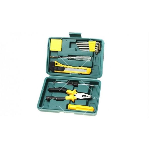 Компактна кутия за автомобили с 11 вида инструменти CASE1 4